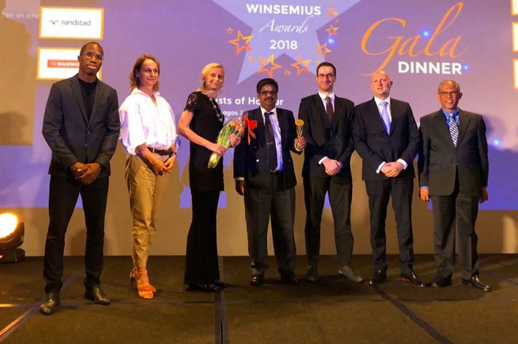 H2i wins Winsemius 'Small Business Rising Star' Award