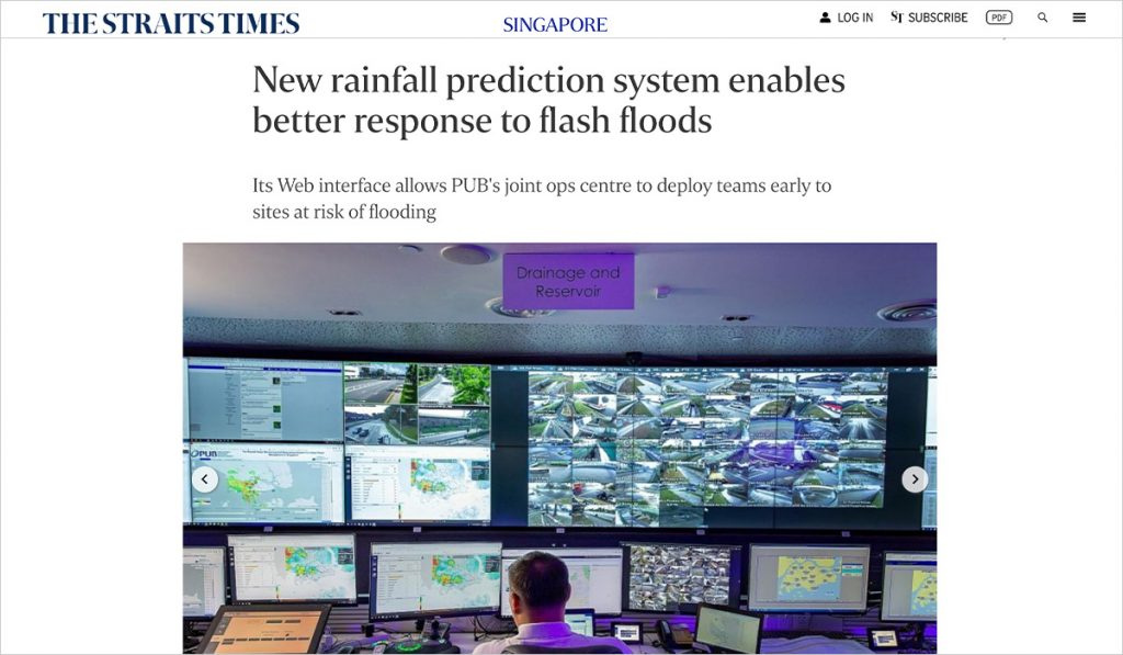 New rainfall prediction system enables better response to flash floods